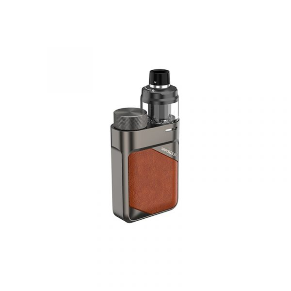 Vaporesso Swag PX80 80W 18650 Pod Leather Brown