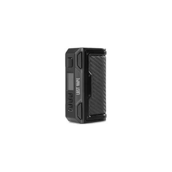Lost Vape Thelema DNA 250C mod Black Carbon Fiber Leather