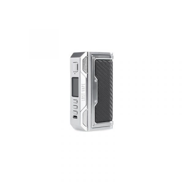 Lost Vape Thelema DNA 250C mod SS Carbon Fiber Leather
