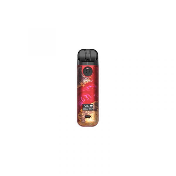 SMOK Novo 4 elektromos cigaretta pod Red Stabilizing Wood
